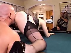 Married red head doxy cavernous chops a hard knob then bangs